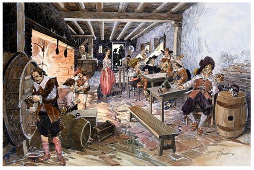 Las tabernas en el Madrid del Siglo de Oro