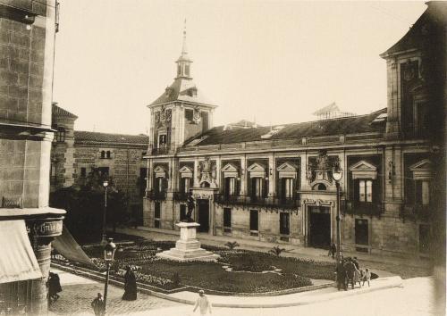 La foto de la semana: plaza de la villa (1931)