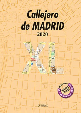Callejero de Madrid XL 2020