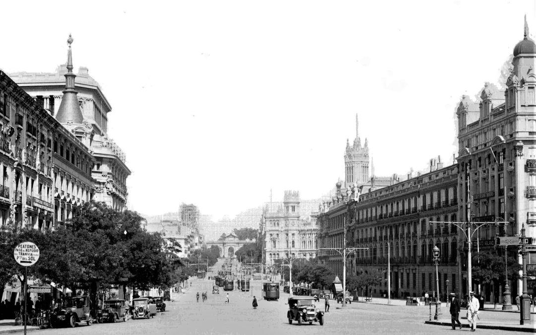 Riego con aguas fecales, Madrid en los 'felices' años 20.